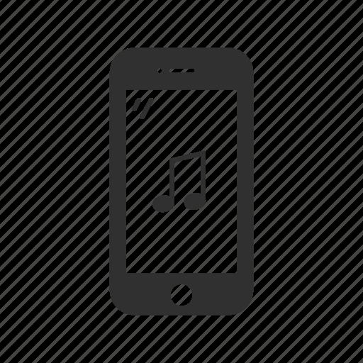 audio, iphone, music, music on phone, phone icon
