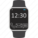 clock, device, smartwatch, wearable icon