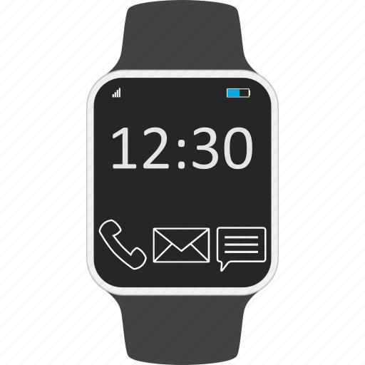 Clock, device, smartwatch, wearable icon - Download on Iconfinder