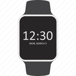 device, smartwatch, time, wearable icon