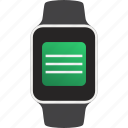 device, smartwatch, text, wearable, message
