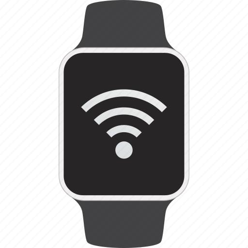 connection, device, internet, smartwatch, wearable, wifi, wireless icon