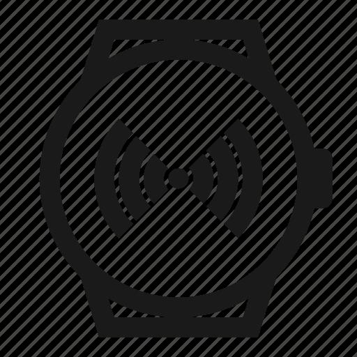 hotspot, signal, smartwatch, watch, wifi icon