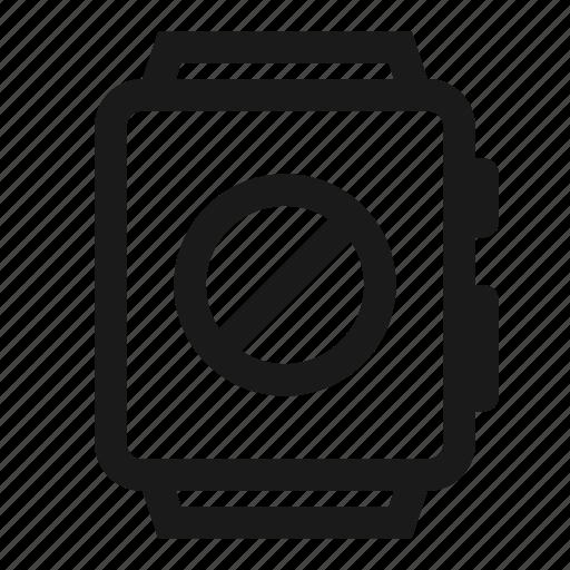 Abbort, cancel, smartwatch, stop, watch icon - Download on Iconfinder