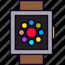 app, apps, circle, smartwatch, watch, wrist