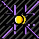 arrow, direction, focus, object, on, orientation