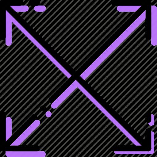 align, arrow, corners, direction, orientation, to icon