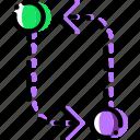 arrow, compare, direction, orientation