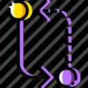 arrow, change, direction, orientation