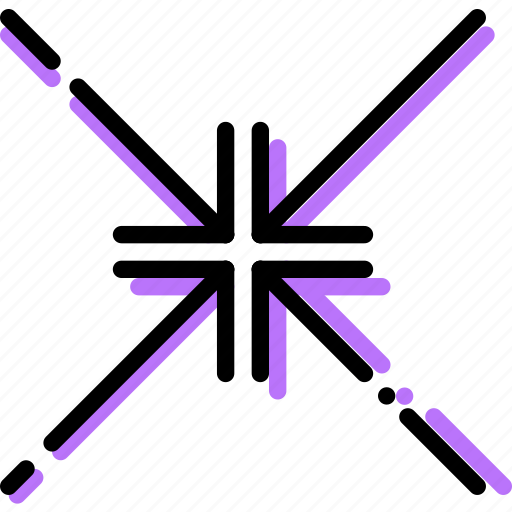 align, arrow, center, direction, orientation, to icon