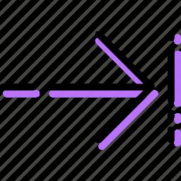arrow, direction, left, move, orientation, to icon