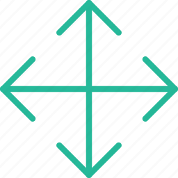 arrow, direction, move, orientation icon