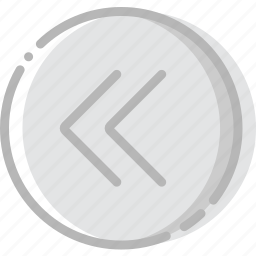arrow, direction, fast, left, orientation icon