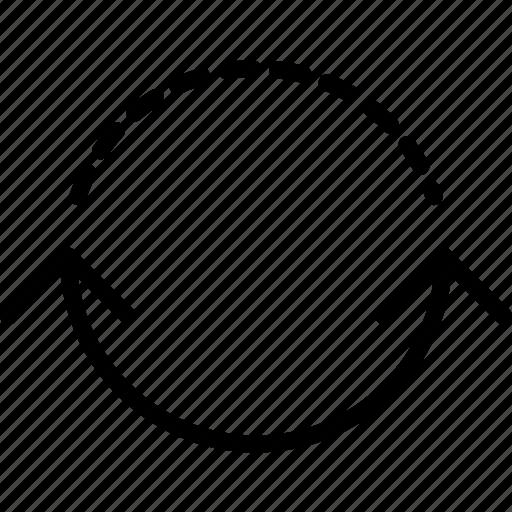 arrow, both, circuit, direction, orientation, ways icon