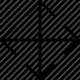 arrow, direction, move, orientation icon