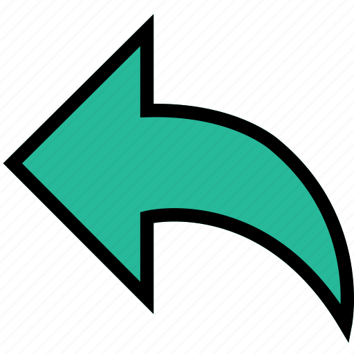 arrow, back, direction, orientation icon