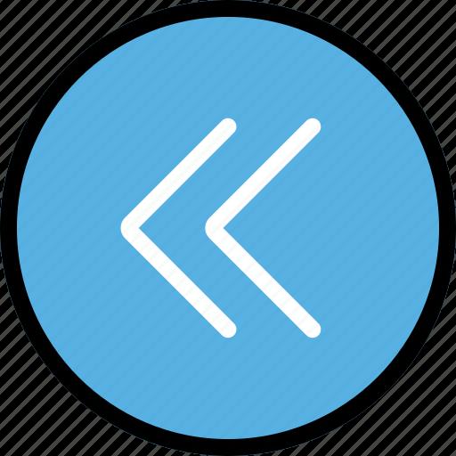 arrow, direction, fast, left, orientation icon