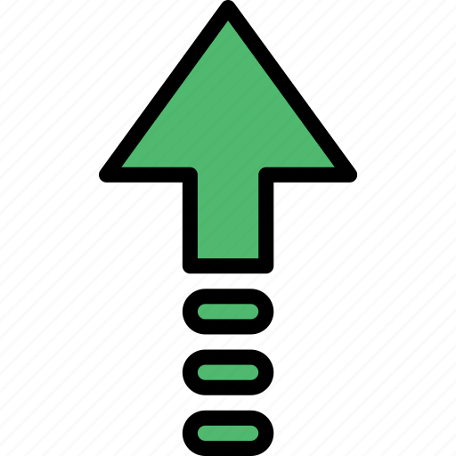 arrow, direction, orientation, up icon
