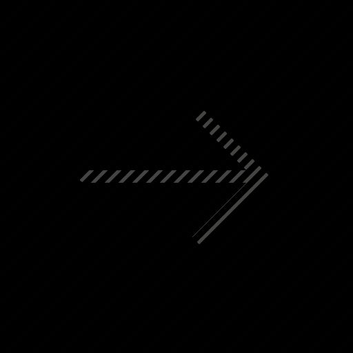 arrow, direction, orientation, right icon