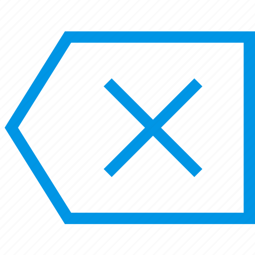 arrow, backspace, direction, orientation icon
