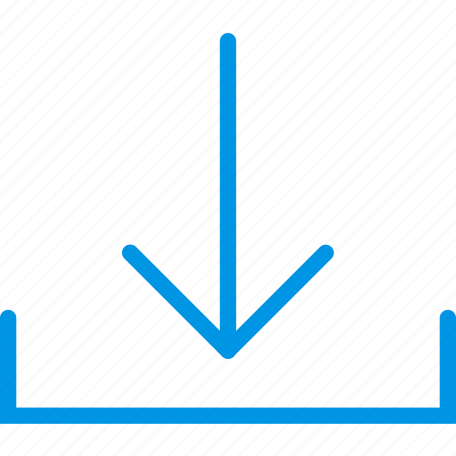 arrow, direction, download, orientation icon