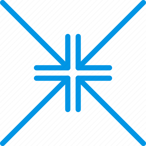 align, arrow, center, direction, orientation, to icon