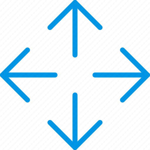 arrow, direction, orientation, reposition icon