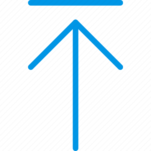 arrow, direction, move, orientation, to, top icon