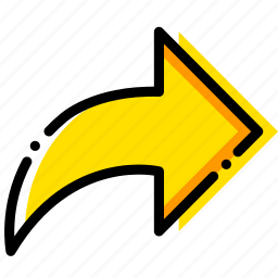 arrow, direction, forward, orientation icon