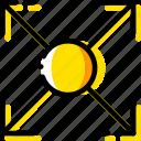 arrow, circle, direction, expand, orientation