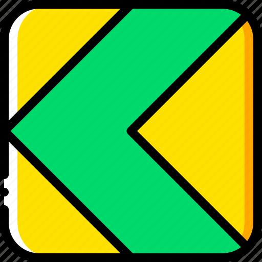arrow, direction, left, orientation icon