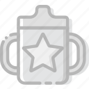 baby, child, cup, feeding, kid icon