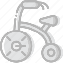 baby, child, kid, tricycle icon