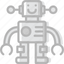 baby, child, kid, robot, toy