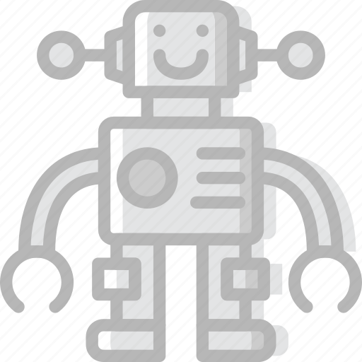 baby, child, kid, robot, toy icon