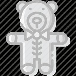 baby, child, kid, teddybear icon