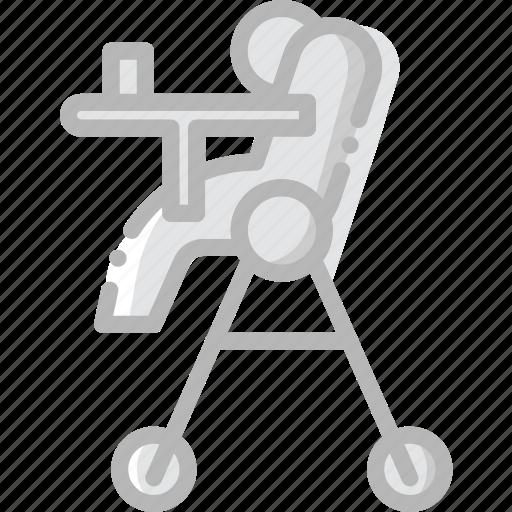 baby, chair, child, feeding, kid icon