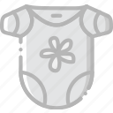 baby, bodywear, child, girl, kid icon