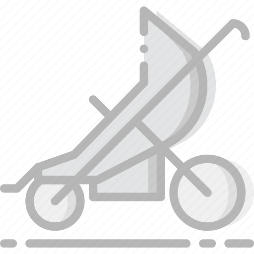 baby, child, kid, sport, stroller icon