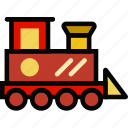 baby, child, kid, toy, train icon