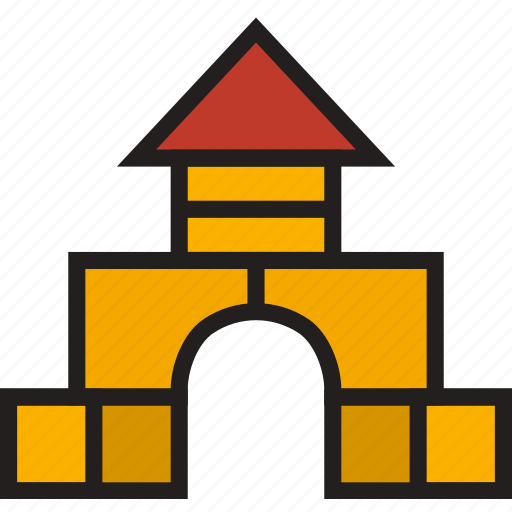 baby, blocks, building, child, kid icon