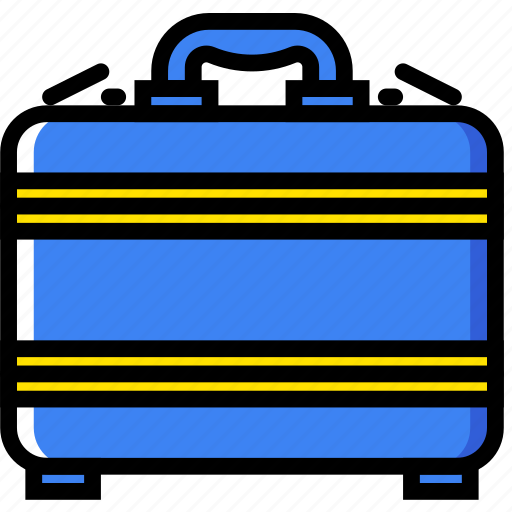 business, finance, marketing, money, suitcase icon
