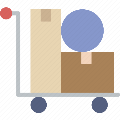 business, deliver, finance, items, marketing icon