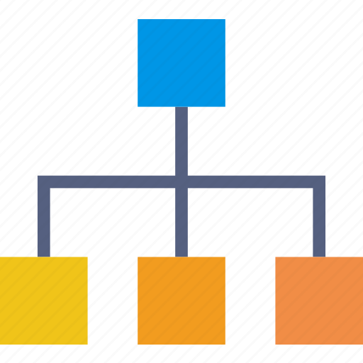 business, diagram, finance, marketing, organization icon