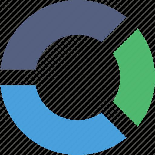 business, chart, finance, marketing, pie icon