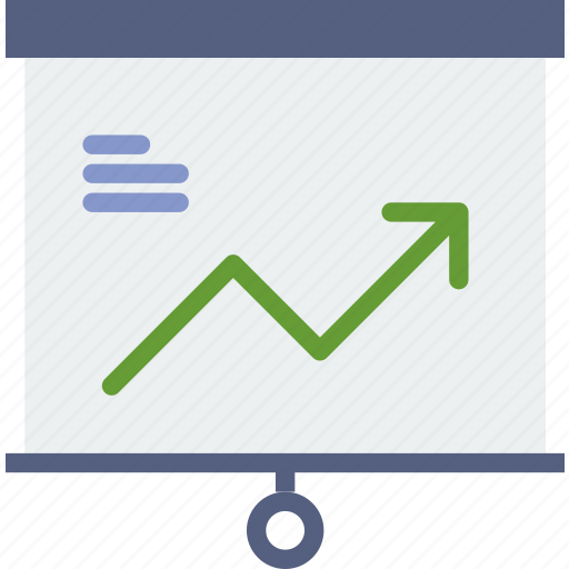 business, chart, finance, marketing, presentation icon