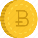 bitcoin, business, finance, marketing icon