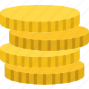 business, coins, finance, marketing icon