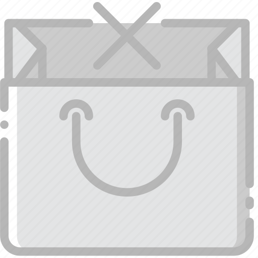 bag, business, contents, delete, finance, marketing icon