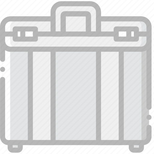 business, finance, marketing, suitcase icon